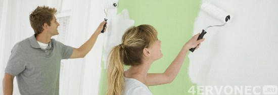 Как правильно клеить и красить