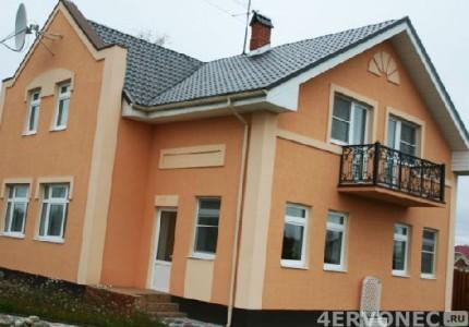 Дом с полной отделкой фасада