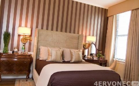 Спальня с низкими потолками