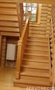 добротная готовая лестница