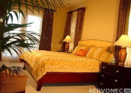 Спальня с недостатком солнечного света