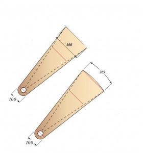 Размеры ступеней для винтовой лестницы