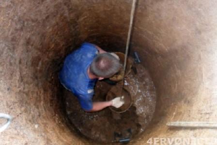 Подъем грунта на поверхность