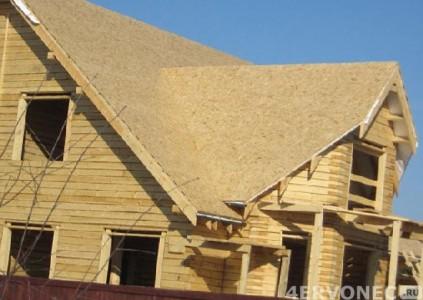 Крыша с подготовленным основанием