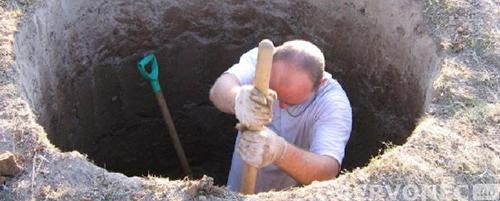 как правильно копать колодец