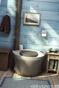 Конструкция торфяного туалета