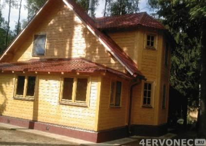 Материалы для внешней отделки деревянных домов