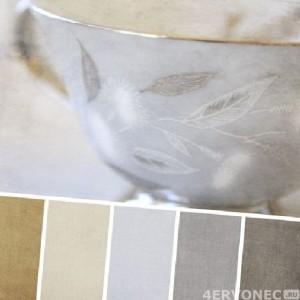 Родственные оттенки краски