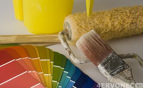 Материалы и инструменты для покраски стен