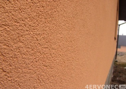 Внешний вид камешковой акриловой штукатурки