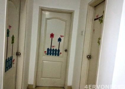 Декор двери в детской