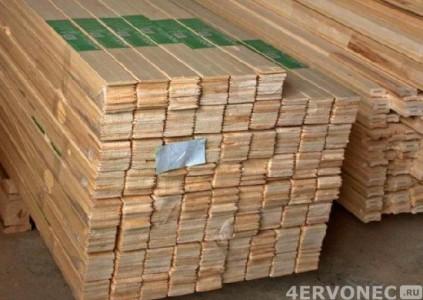 Заводская упаковка заготовок из цельного дерева