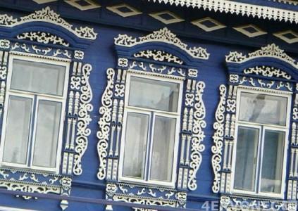 Резные наличники на окна - фото