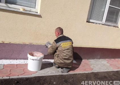 Нанесение штукатурки «Короед» на стену дома своими руками
