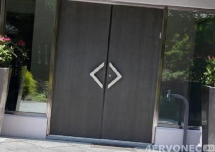 Стильные двери на петлях