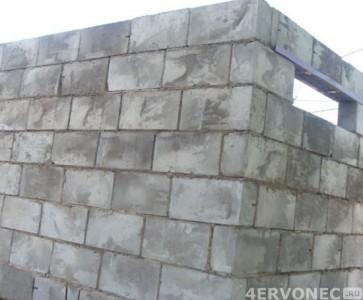стены из пеноблока для гаража