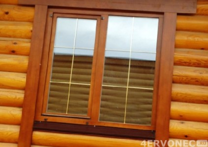 Пластиковые наличники на окна - фото