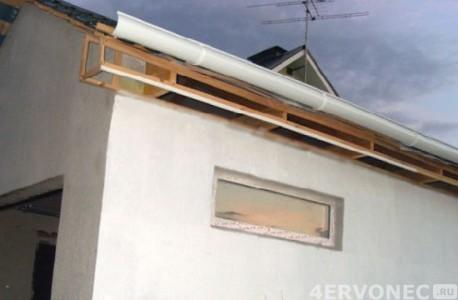 крыша для гаража
