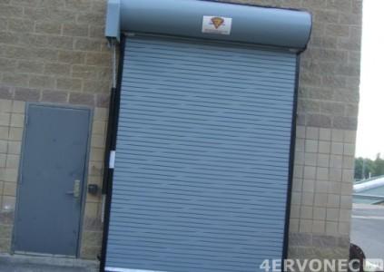 Роллетные ворота гаража