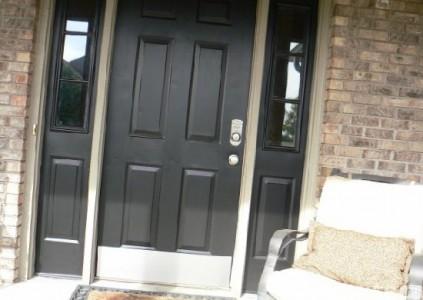 Железная дверь, сделанная своими руками