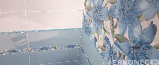 Плитка с цветочным орнаментом