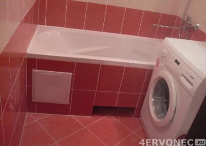 Результат ремонта в ванной комнате