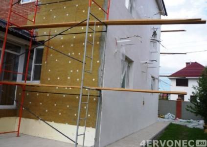 Технология «мокрого фасада»