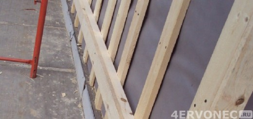 Деревянные бруски для обрешетки под сайдинг