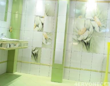 Облицовка плиткой в ванной комнате