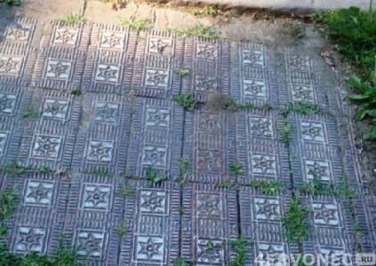 Текстурированные плитки с рисунком