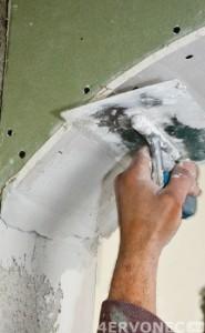 Подготовка поверхности арки перед отделкой