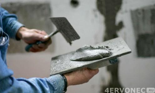 Подготовка раствора к набрасыванию на стену