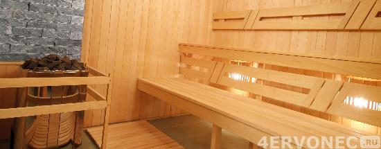 Как отделать деревянную баню внутри