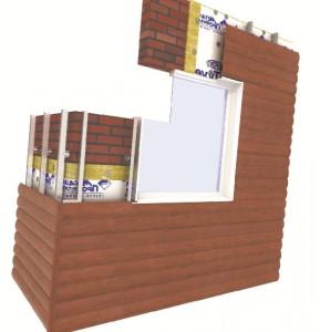Схема крепления металлического блок-хауса