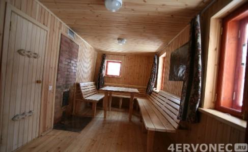 Отделка предбанника материалами из древесины