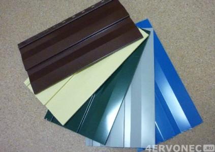Фото металлического сайдинга разных цветов