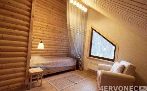 Облицовка комнаты блок-хаусом