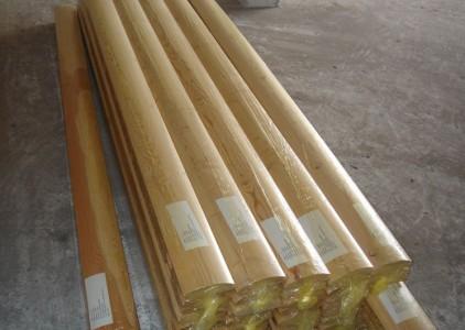 Упаковка деревянного блок-хауса