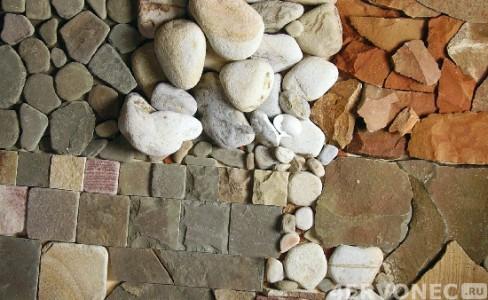 Разновидности натурального камня для декорирования