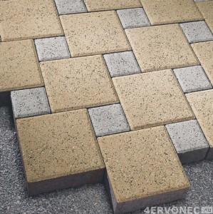 Плитка, полученная методом вибропрессования