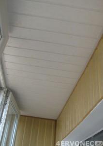 Использование сайдинга при обшивке балкона