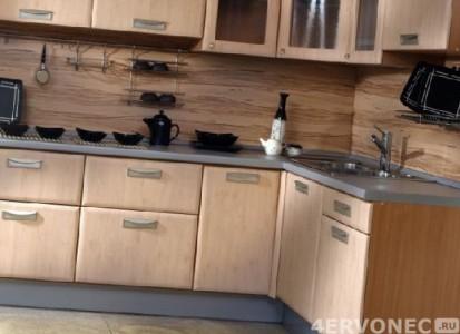 Ламинированные панели-ПВХ на фартуке кухни