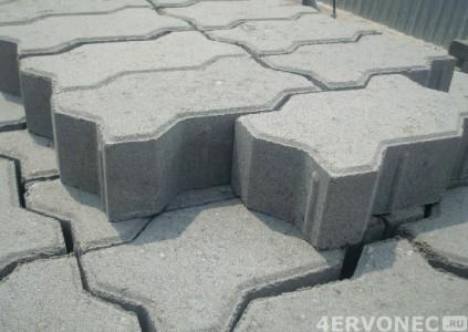 Выбор тротуарной плитки по толщине
