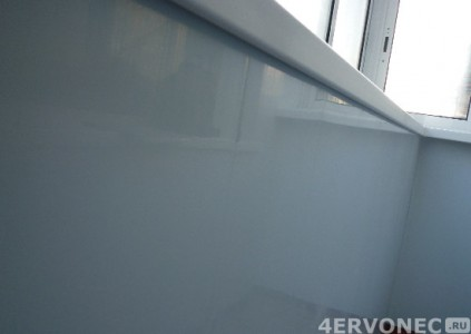 Сэндвич-панели в отделке балкона